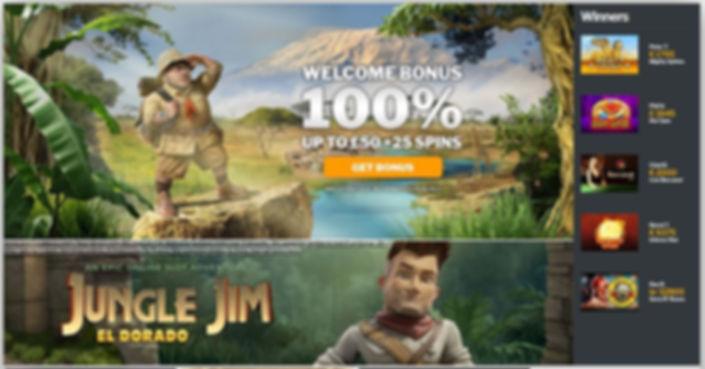 Jambo Casino Review - Casino Lobby.JPG