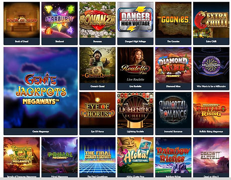 Jonny Jackpot Casino Review - Slots and Games