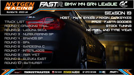 sim racing league logo