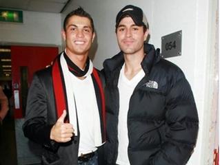 Cristiano Ronaldo convence Enrique Iglésias a ajudar IPO