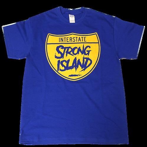 STRONG ISLAND ROYAL TEE