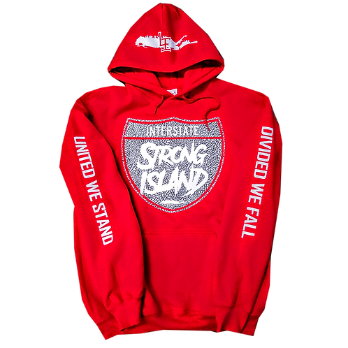 STRONG ISLAND RED UNITY HOODIE