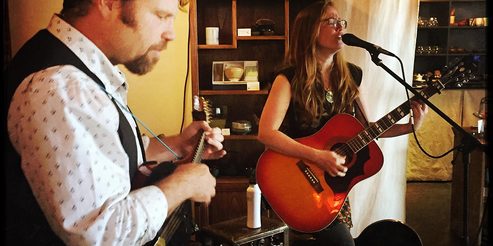 Katie Sontag and C Todd Robbins at the Dodeca Art Barn