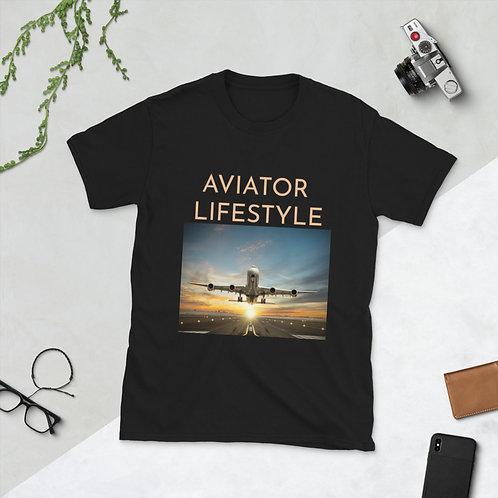 AVIATOR LIFESTYLE- Short-Sleeve Unisex T-Shirt
