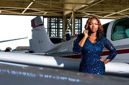 Ava the Aviator Airplane Pic