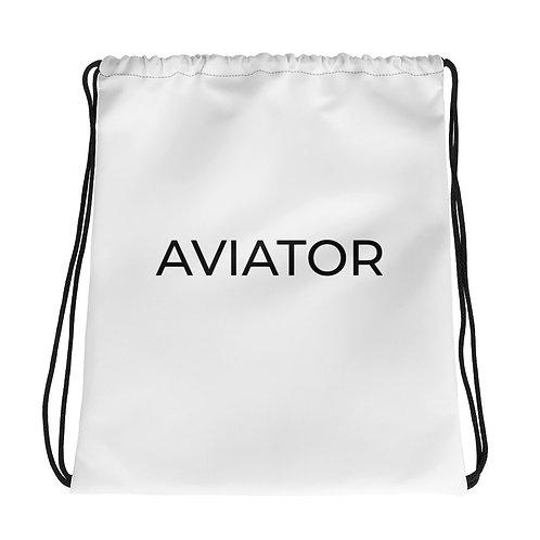 Aviator Drawstring bag
