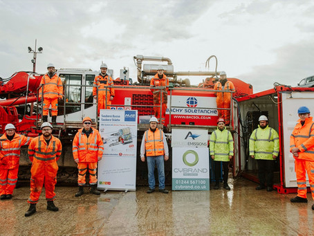 Cybrand celebrate 'world first' with Stage 5 retrofit compliance on heavy plant machinery over 300kW