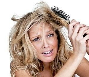 How to deal with tangle hair?