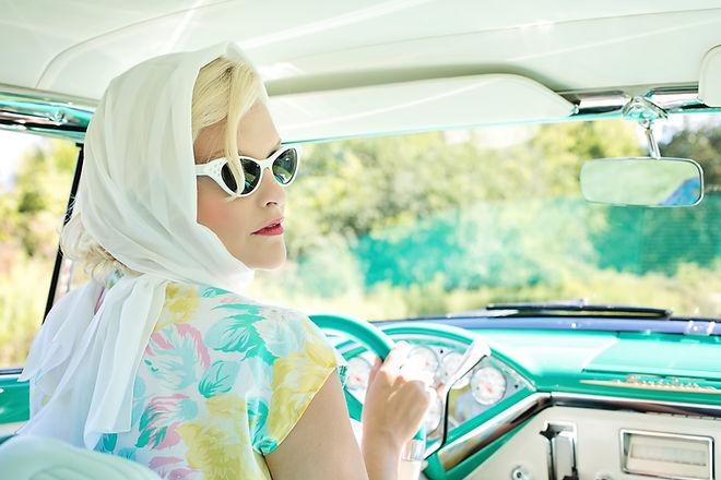 VCM Perth Events vintage woman driving