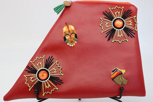 """My Tribe"" mini K hand bag"