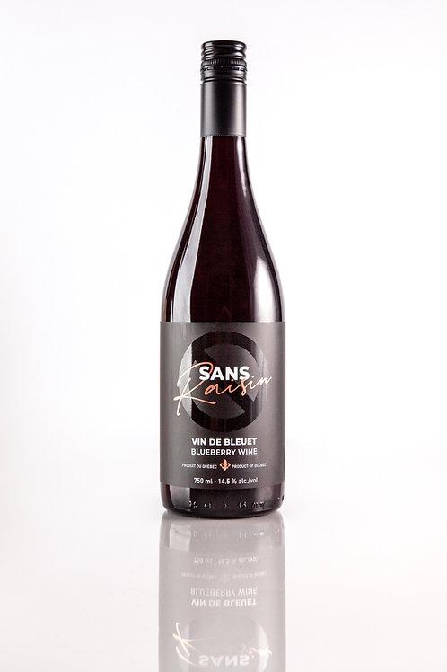 SANS RAISIN Vin de bleuet