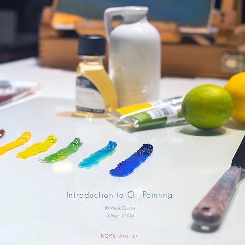 Oil Painting (10 Week Courses, Beginner/ Intermediate)