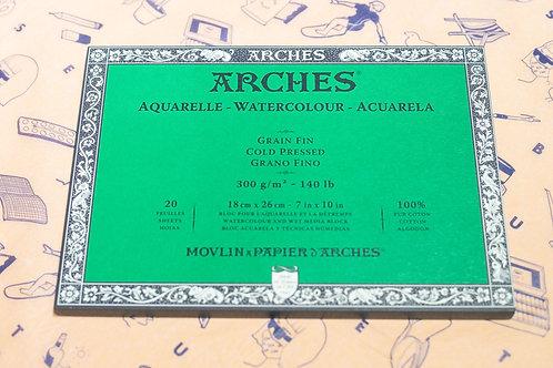 Arches Watercolour Paper (Cold Pressed)