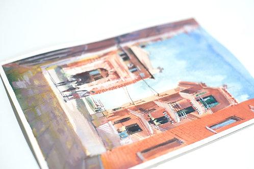 Street Scenes: Landscape Watercolour Course II (4 Weeks)
