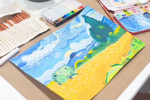 Young Artist Class (Ages 8-11)