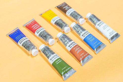 Oil Painting Material Bundle
