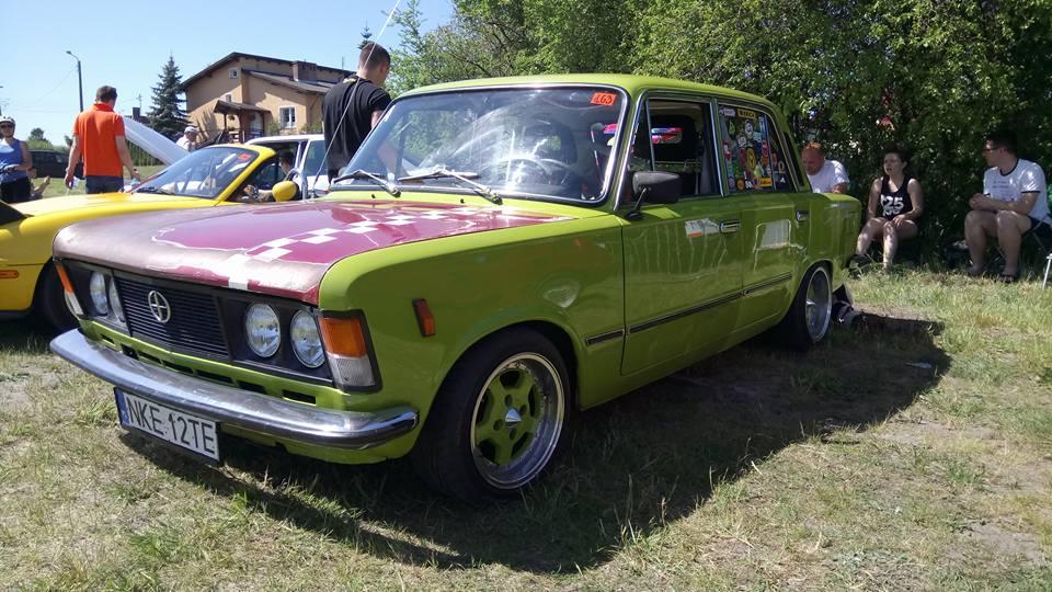 Fiat 125p z Kętrzyna