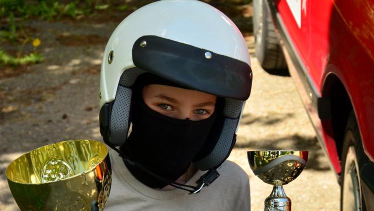Młódzi miłośnicy motosportu