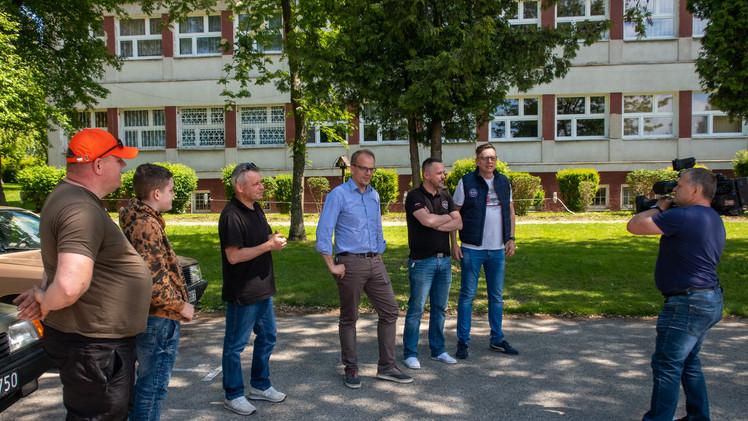 """Odwiedziła nas ekipa TVP3 Olsztyn, która zrealizowała kolejny odcinek """"Środy z Klasykiem"""""""