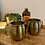 Thumbnail: Two Antique Brass Moscow Mule Mugs
