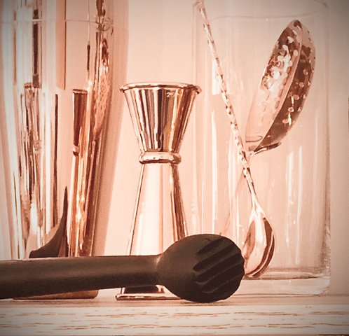 Copper Double-Ended Jigger