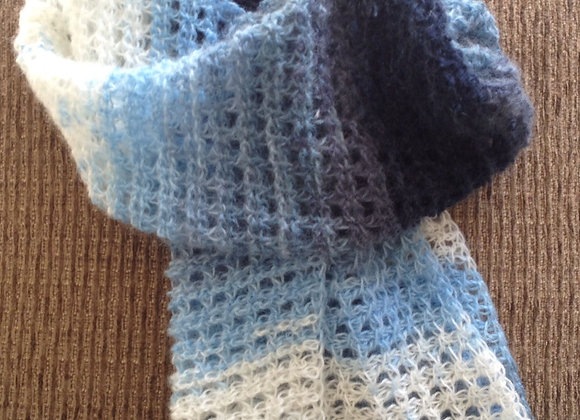 Tunisian Crochet Scarf and Hat