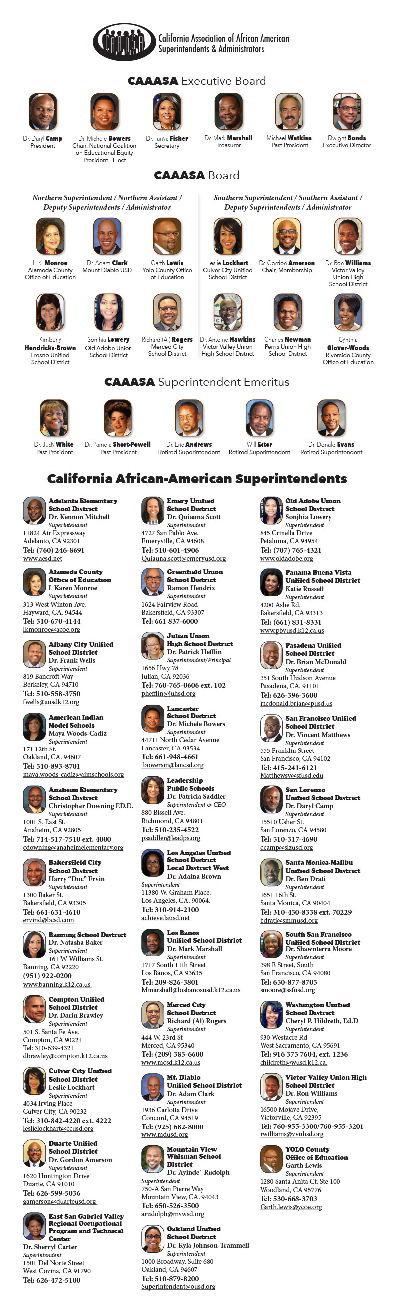 2021_CAAASA_North_South_Superintendents_