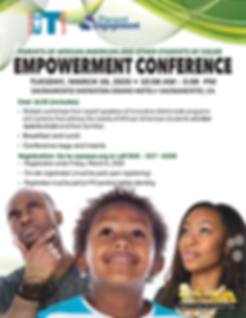 2020_CAAASA_PARENT EMPOWERMENT_CONFERENC