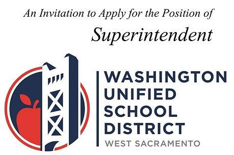 Washington USD Superintendent Job Openin