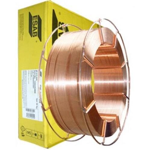 Filo per saldare ramato Ø 1.0mm - bobina 18kg ESAB AUTROD 12.56