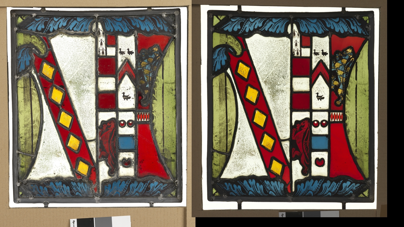 Fawsley Hall Heraldry Conservation