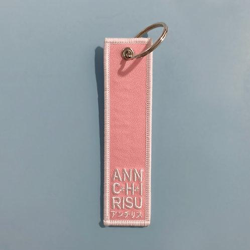 03 Pink Keyring