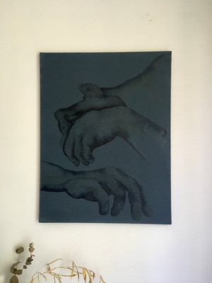 Repenti, série 1-5 80x60x2cm