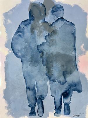 toile de lin 115x90x2 cm