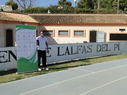 José María González se inicia en el Atletismo