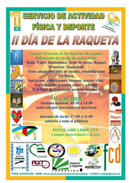 10 de abril II Día de la Raqueta