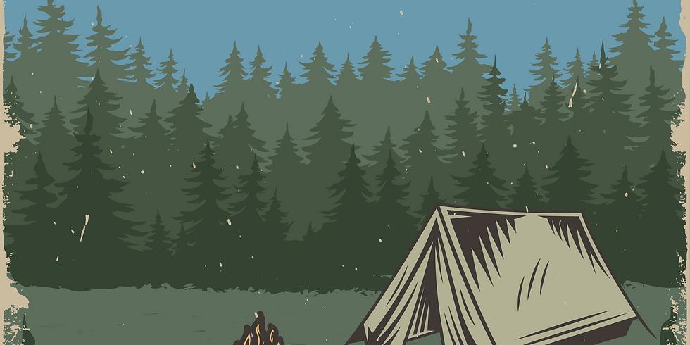 Community Summer Camp Bonfire
