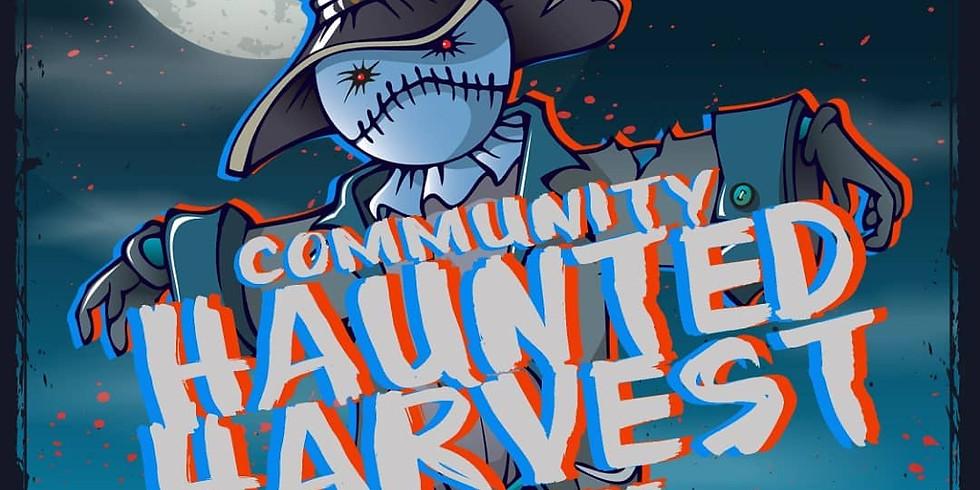 Community Haunted Harvest Bonfire