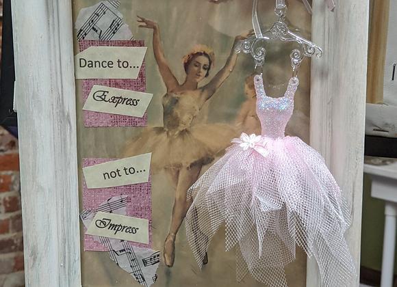 Ballerina and Dancer Frame