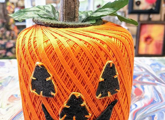 Fall Decor - Thread Pumpkin