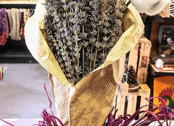 Natural Cotton and Lavender Bundles