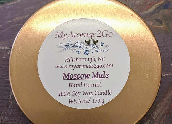 6 oz. Soy Candle Tins