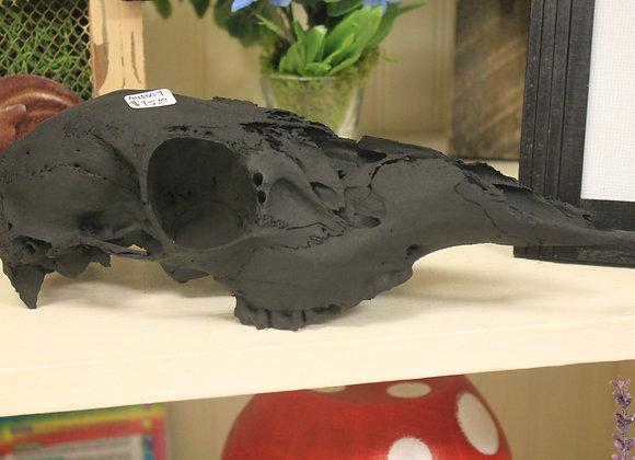 Black Doe Skull - Home Decor