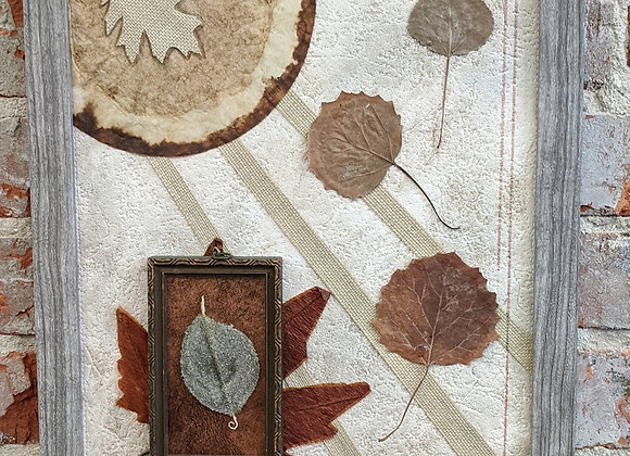 Fall Decor - Autumn Collage Wall Art