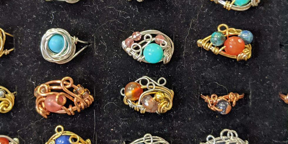 Wire Wrapping - Rings and Bangles