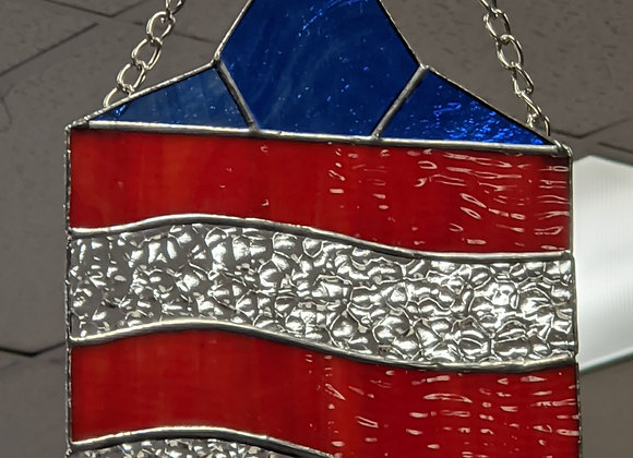 Patriotic Stained Glass