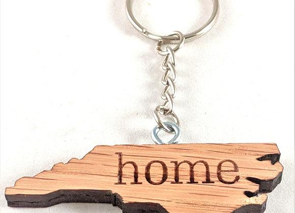 NC Home Keychain