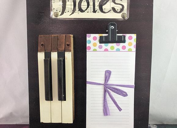 Notes Piano Board