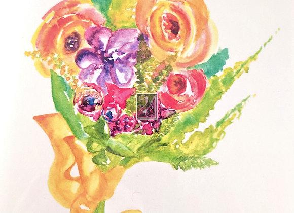Flowers for Megan Watercolor