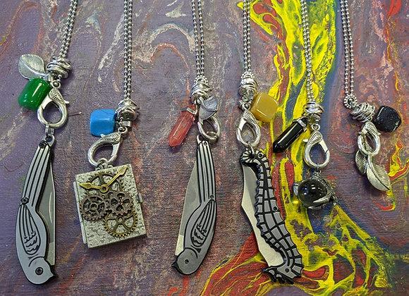 Jewelry - Pocket Knife Necklaces